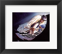 Hot Keys Framed Print