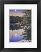 Framed Moonlit Embers