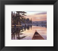 Framed Northern Sunrise