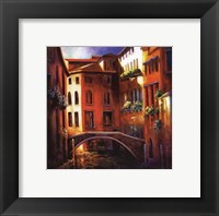 Framed Sunset in Venice