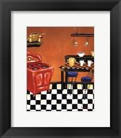 Framed Retro Kitchen IV