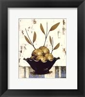 Pommes Vertes Framed Print