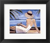 Framed Cote d'Azur