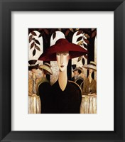 Framed Red Hat