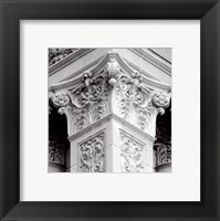 Architectural Detail IV Framed Print