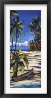 Tropical Retreat I Framed Print