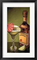 Lime Margarita Framed Print