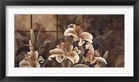 Framed Lily Impression