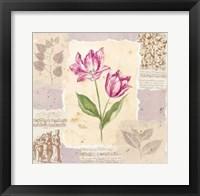 Framed Renaissance Tulip