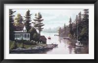 Framed Cottage Country