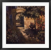 Framed Courtyard in Provence