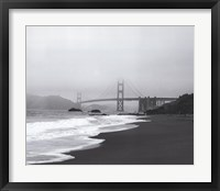 Framed Golden Gate Bridge II