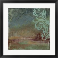 Lush Filigree I Framed Print