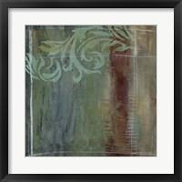 Lush Filigree III Framed Print