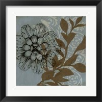 Dusty Rosettes IV Framed Print
