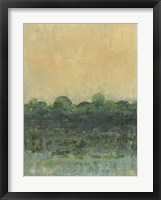 Framed Viridian Marsh II