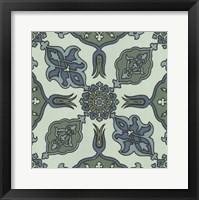 Framed Mediterranean Tile I