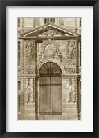 Framed Ornamental Door II