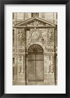 Framed Ornamental Door II