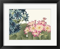 Framed Japanese Flower Garden IV