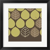 Forest Motif I Framed Print
