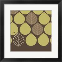 Forest Motif IV Framed Print