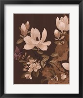 Asian Brocade II Framed Print