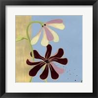 Garden Glimmer II Framed Print