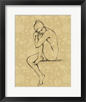 Sophisticated Nude IV Framed Print