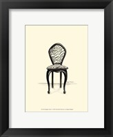 Designer Chair V Framed Print