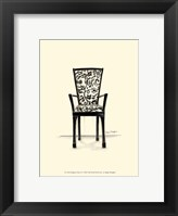 Designer Chair VI Framed Print