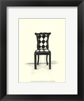Designer Chair VII Framed Print