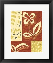 Framed Festive Floral II