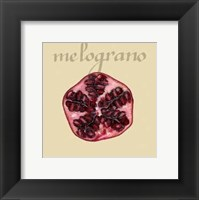 Framed Italian Fruit I