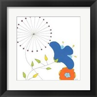 Playful Blooms I Framed Print