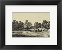 Framed Idyllic Bridge II