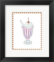 Framed Ice Cream Parlor II
