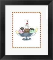Framed Ice Cream Parlor IV