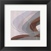 Mint Ripple I Framed Print