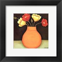Framed Flores Coloridas II