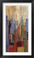 Towerscape I Framed Print