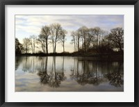 Framed Frozen Reflections