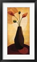 Floral Expressions I Framed Print