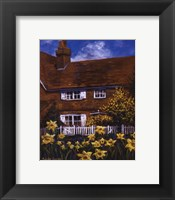 Cottage Of Delights III Framed Print
