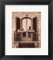Italian Moments I Framed Print