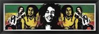 Framed Bob Marley Rastaman