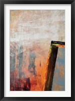Seven I Framed Print