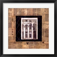 Framed Architectural Elevation I