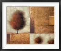 Framed Textured Landscape II
