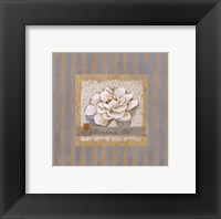 Gardenia Oil Framed Print